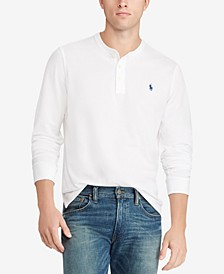 Men's Featherweight Cotton Henley Shirt