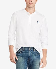Polo Ralph Lauren Men's Featherweight Cotton Henley Shirt
