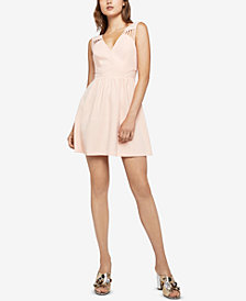 BCBGeneration Strappy Cutout Dress