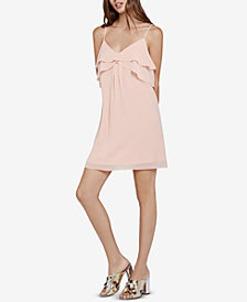 BCBGeneration Ruffled Mini Dress