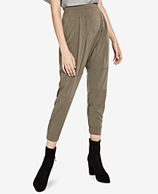 BCBGeneration Pleated-Front Harem Pants
