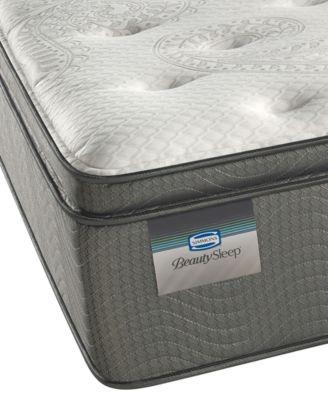 "BeautySleep 14"" Sun Valley Plush Pillow Top Mattress- Twin"