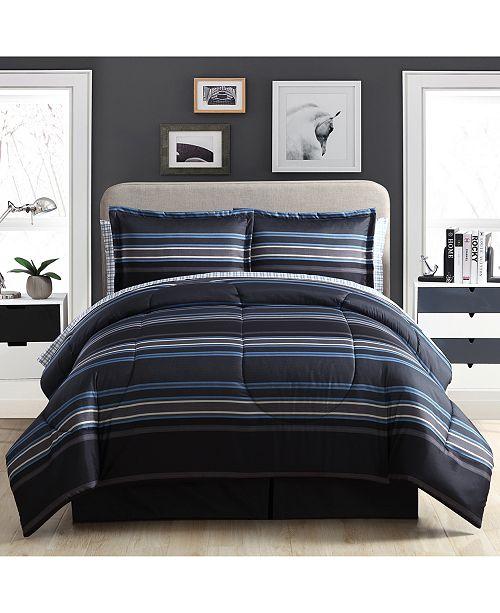 Ellison First Asia Soho 7-Pc. Queen Comforter Set
