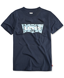 Levi's® Big Boys Batwing Logo-Print T-Shirt