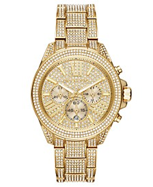 Women's Wren Gold-Tone Stainless Steel Bracelet Watch 42mm