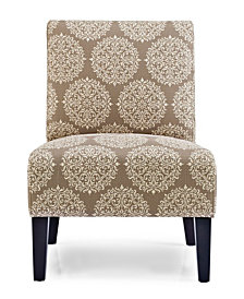 Monaco Accent Chair, Gabrielle Stone