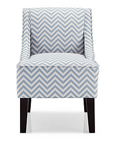 Phoenix Accent Chair, Ziggi Mist
