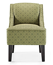 Phoenix Accent Chair, Gigi Jungle