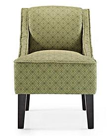 Phoenix Accent Chair, Gigi Jungle