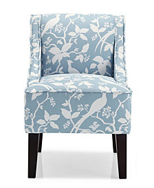 Marlow Accent Chair, Bardot Robins Egg