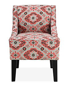Prescott Accent Chair, Navajo Strawberry