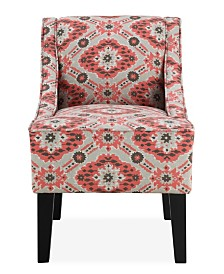 Prescott Accent Chair, Strawberry