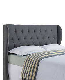 Yorkshire Wing Headboard, Full/Queen, Dove