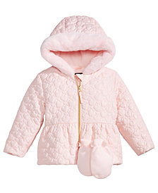 S. Rothschild Toddler Girls Quilted Jacket