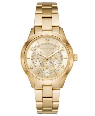 Women's Runway Rose Gold-Tone Stainless Steel Bracelet Watch 38mm