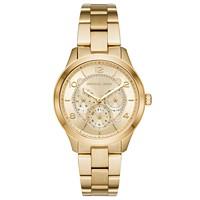 Michael Kors Runway Gold-Tone Stainless Steel Watch MK6588 Deals
