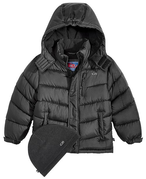 a13af83b8211 CB Sports Hooded Puffer Coat