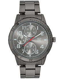 I.N.C. Men's Dark Gunmetal Bracelet Watch 45mm, Created for Macy's