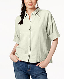 Eileen Fisher Organic Linen Shirt