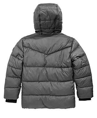 Michael Kors Big Boys Hooded Puffer Jacket Coats Jackets Kids
