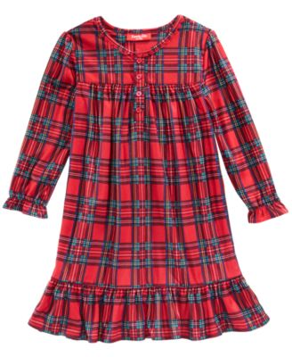 Matching Brinkley Plaid Nightgown, Available in Toddler and Kids, Created For Macy's
