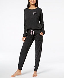 Jenni by Jennifer Moore Jogger Pajama Top & Jogger Pants, Created for Macy's