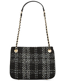 I.N.C. Deliz Bouclé Shoulder Bag, Created for Macy's