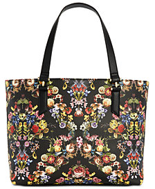 I.N.C. Vicktoria Floral Laptop Tote, Created for Macy's
