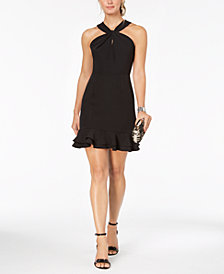 19 Cooper Open Lace-Back Shift Dress