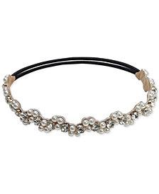 Deepa Imitation Pearl & Rhinestone Stretch Headband
