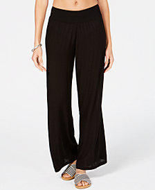 Lauren Ralph Lauren Crinkle Cover-Up Pants