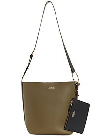 GUESS Ella Bucket Shoulder Bag