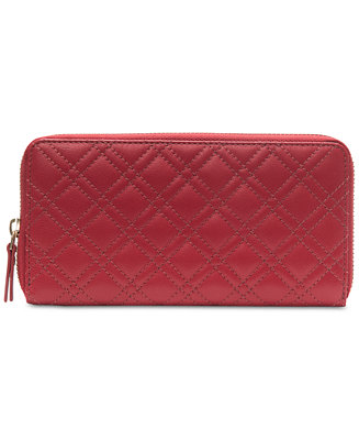 2d7b6d6ec0 Collection XIIX Quilted Leather Zip-Around Wallet   Reviews - Handbags    Accessories - Macy s