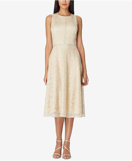 6c869d32c5e0 Tahari ASL Lace Midi Dress & Reviews - Dresses - Women - Macy's