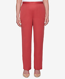 Alfred Dunner Petite Sunset Canyon Pull-On Pants