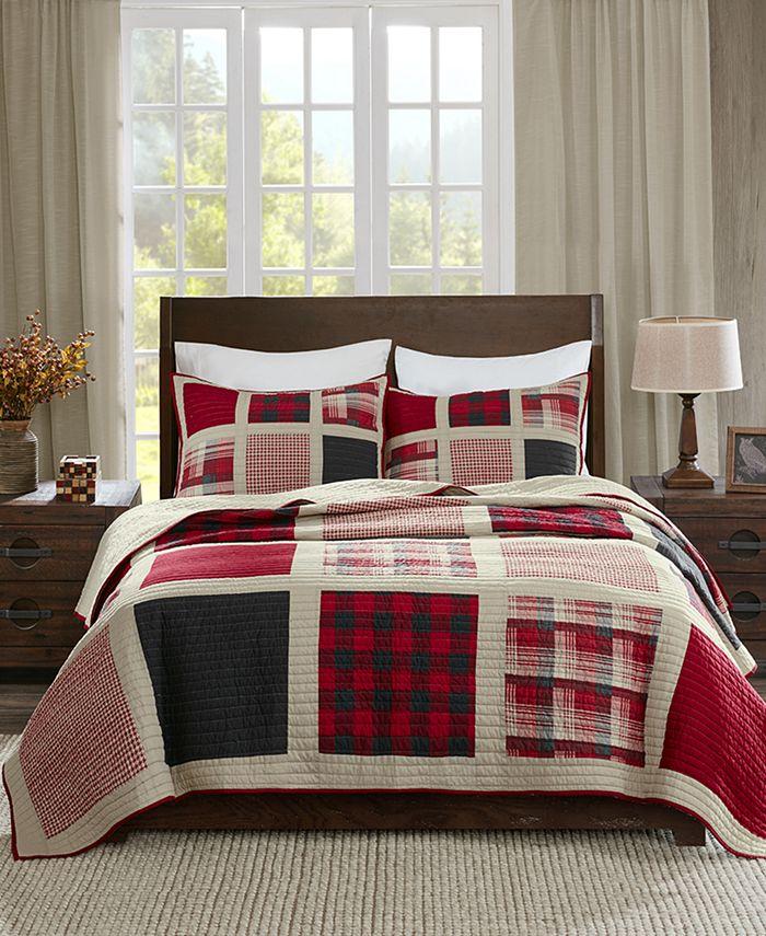 Woolrich - Huntington Reversible 3-Pc. Oversized King/California King Quilt Mini Set