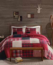Woolrich Sunset Reversible 3-Pc. Oversized Full/Queen Quilt Mini Set