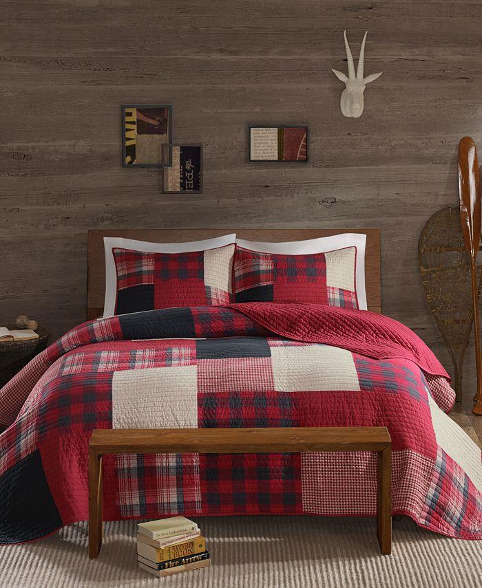 Woolrich - Sunset Reversible 3-Pc. Oversized King/California King Quilt Mini Set