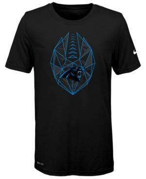 Nike Carolina Panthers Football Icon T-Shirt, Big Boys (8-20)