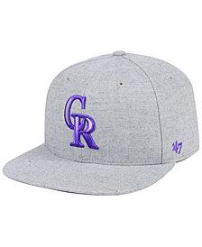 '47 Brand Colorado Rockies Falton Snapback Cap