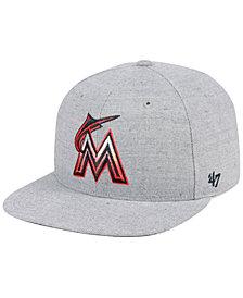 '47 Brand Miami Marlins Falton Snapback Cap