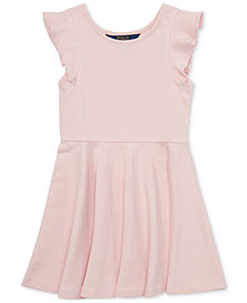 Polo Ralph Lauren Little Girls Ruffled Fit & Flare Dress