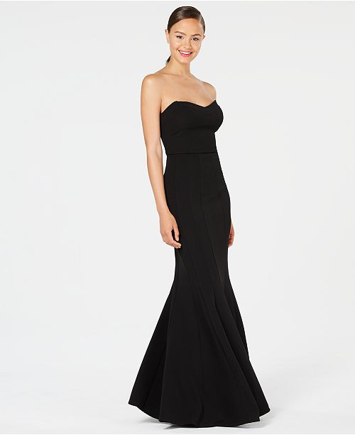 Strapless Mermaid Teeze Juniors' Gown Black Me R4qpv