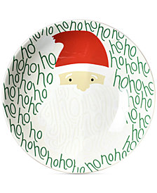 Coton Colors Ho Ho Santa Small Pasta Bowl