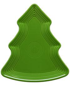 Fiesta Shamrock Tree Plate