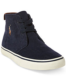 Polo Ralph Lauren Men's Talin Corduroy Sneakers