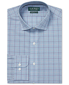 Ralph Lauren Men's Plaid Dress Shirt