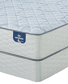 "Serta Sertapedic 10"" Honeytree Firm Mattress Set- Queen Split"