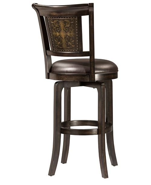 Hillsdale Camille Swivel Counter Stool