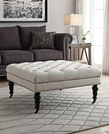 Izzy Square Tufted Ottoman